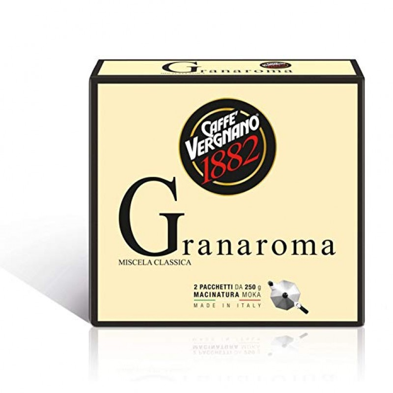 VERGNANO GRANAROMA 250ГР 12БР/СТ 1+1