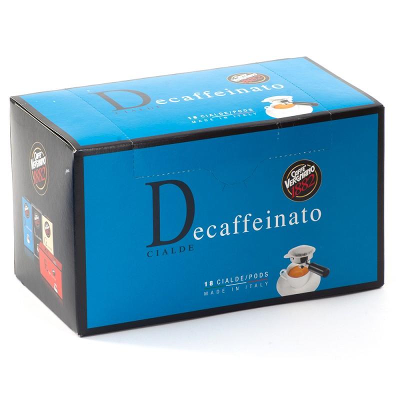CIALDA VERGNANO DECAFFEINATO 6,94ГР 18БР/КУТ